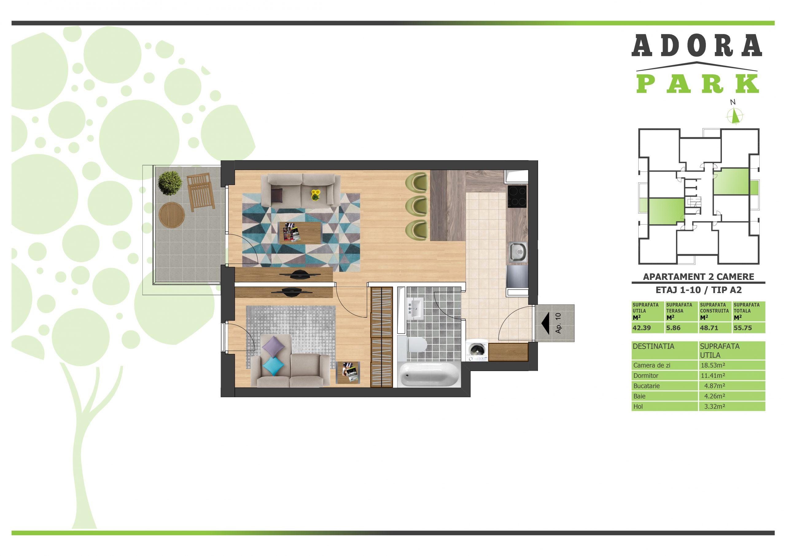 Apartament 2 camere Arad A2